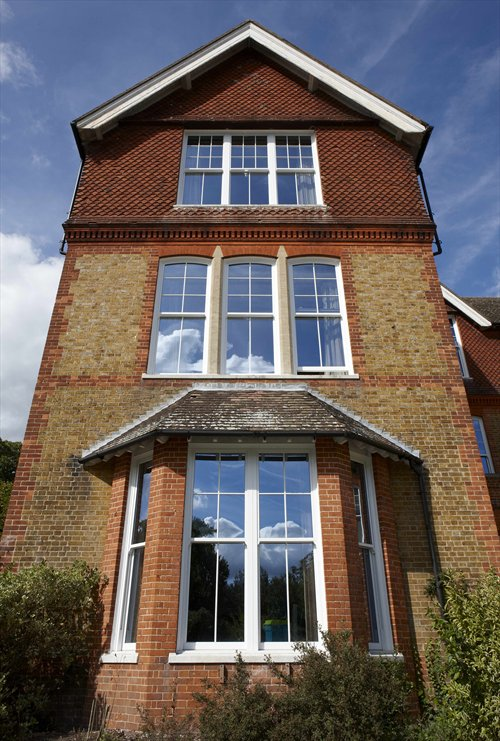 Sash windows, REHAU Heritage range,  Vertical Sliding Window , modern sash windows, PVC-U, Highbury First Class Glazing, Portsmouth, Hampshire